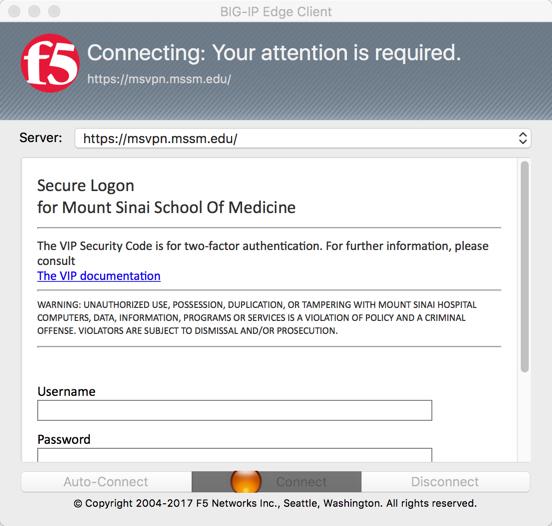 VPN Step 3 | Academic IT Security